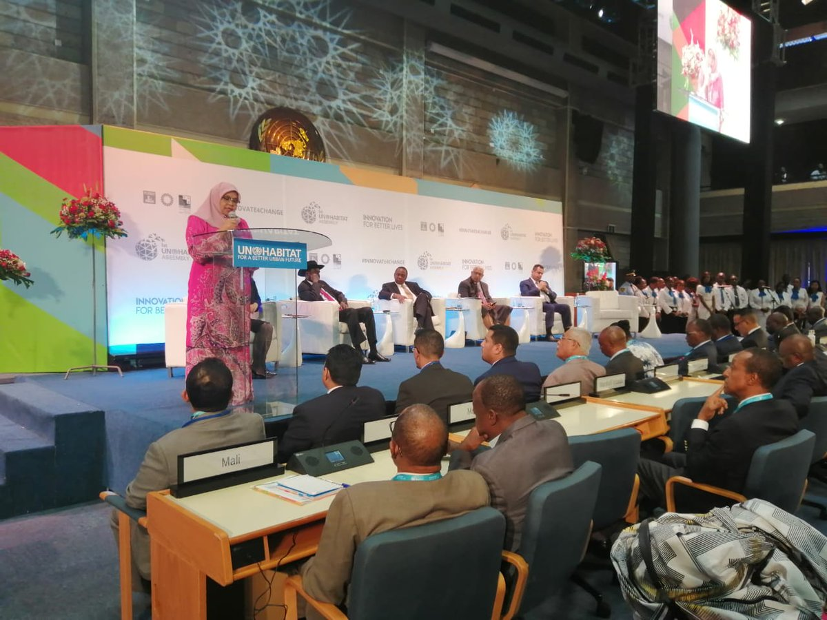 Uhuru calls for public-private-partnerships in tackling urban challenges at UNHabitat meet