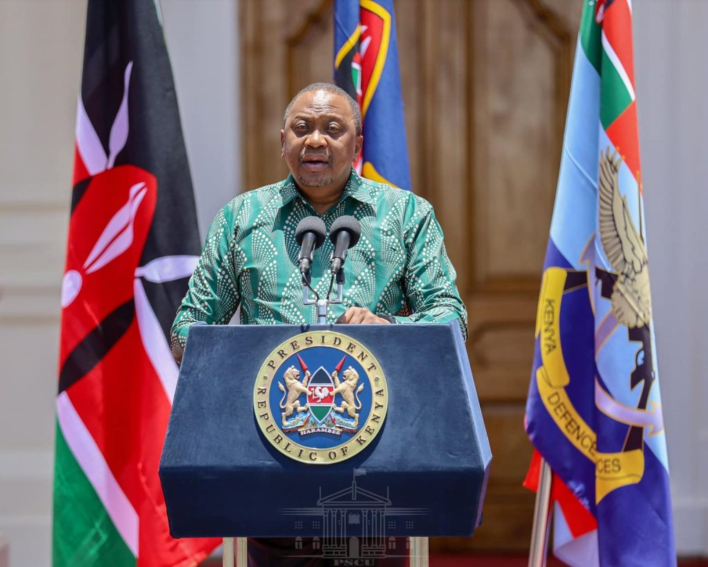 Partial lockdown as Uhuru announces curfew