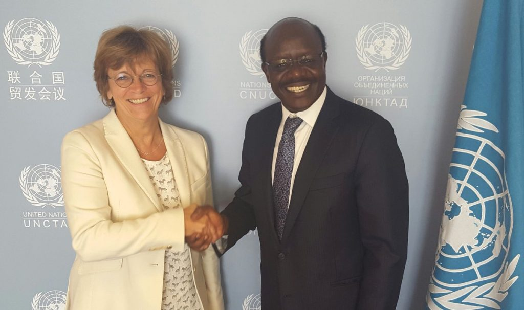 UNCTAD Deputy Secretary-General Isabelle Durant to act upon Mukhisa Kituyi's resignation