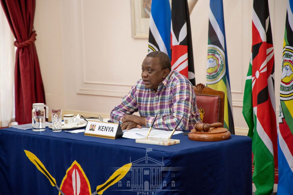 President Kenyatta to strengthen EAC partnerships to enhance connectivity as chairman
