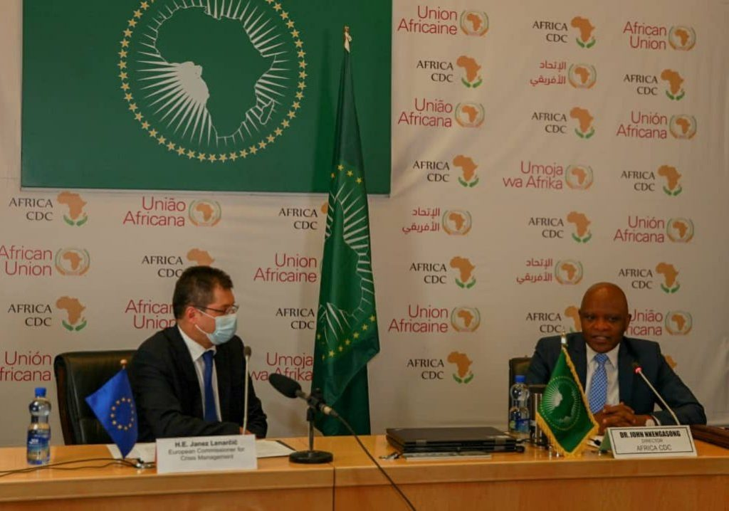 EU launches €100 million humanitarian initiative to support Covid-19 vaccination in Africa