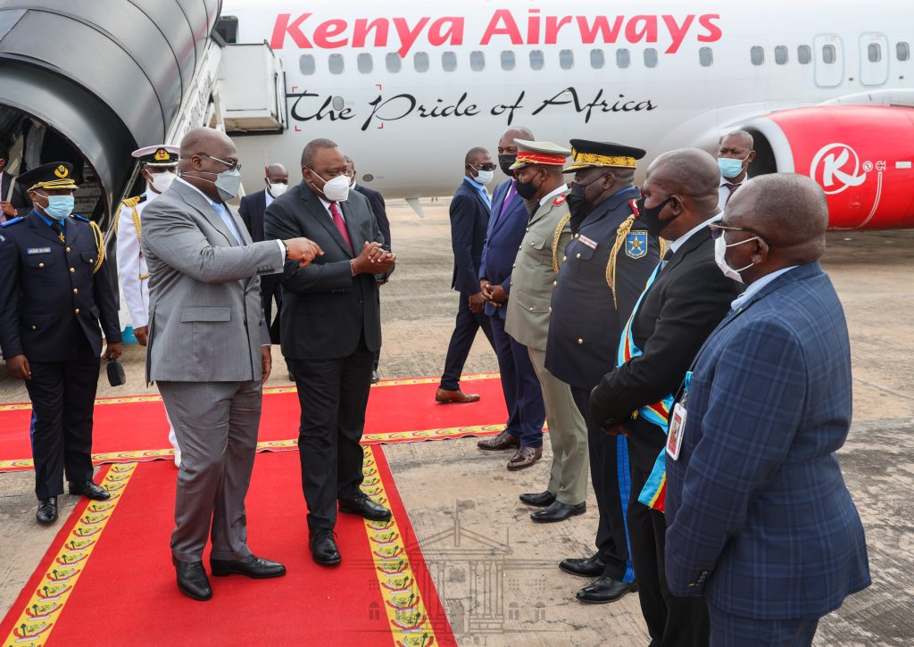 Uhuru in DRC for three-day State visit