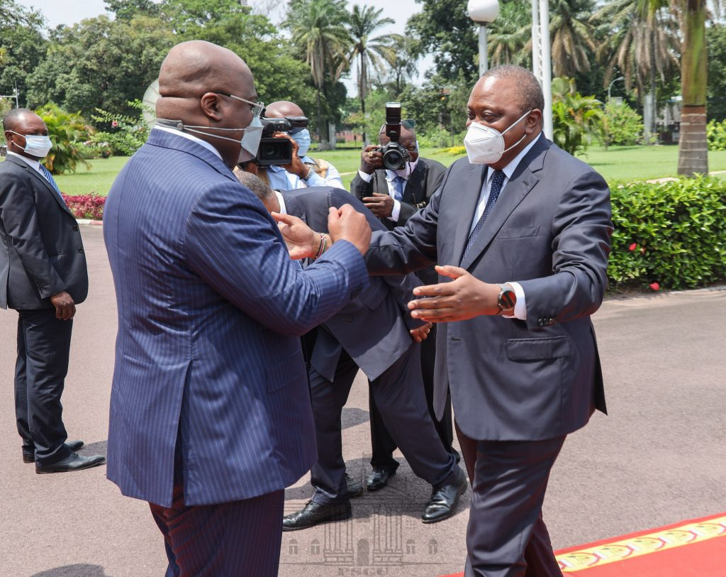 Uhuru welcomes DRC's application to join EAC