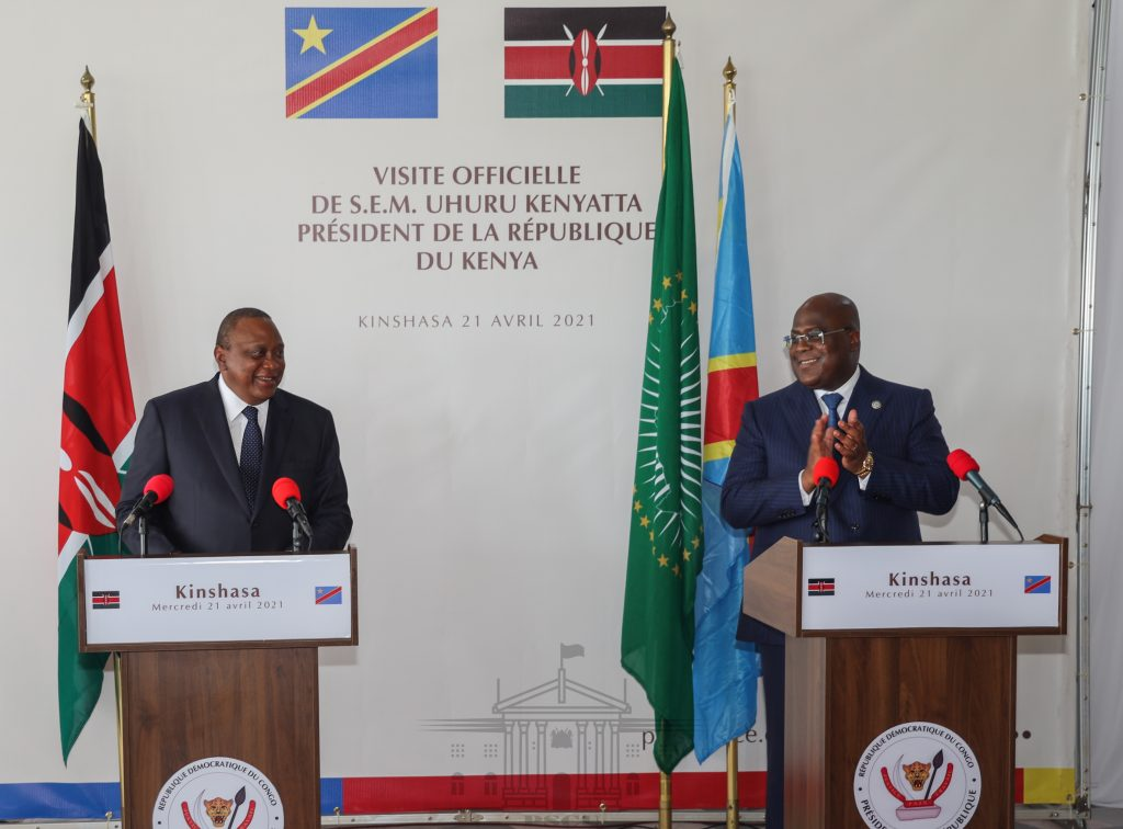 Kenya to open two consulates in DRC, says Uhuru